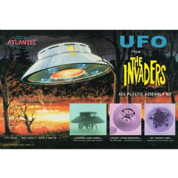 Invaders UFO Model Kit Atlantis Models